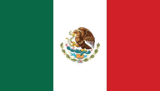 ilustraciones, imágenes clip art, dibujos animados e iconos de stock de méxico - bandera mexicana