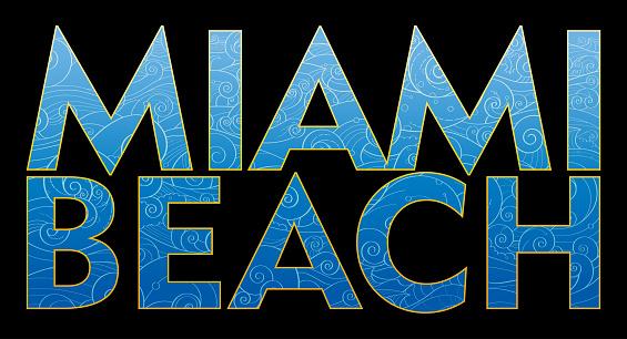 Miami Beach text