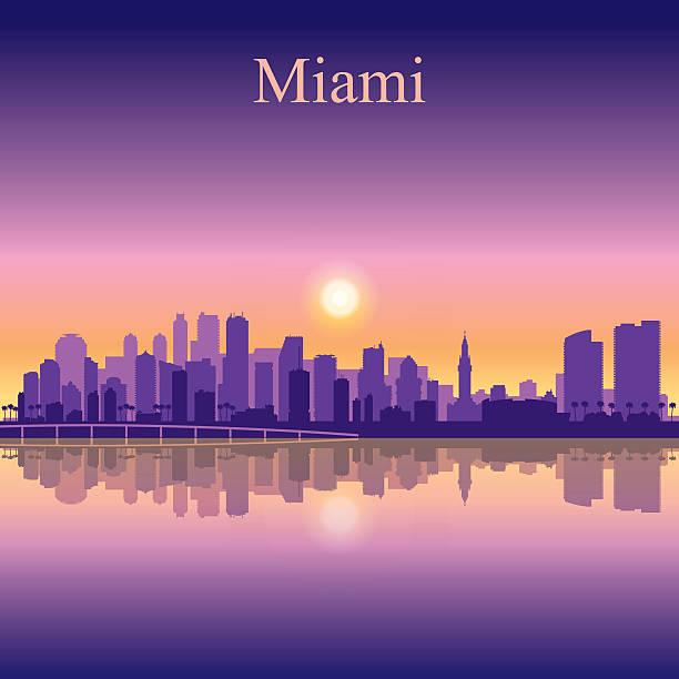 Miami Skyline Illustrations, Royalty-Free Vector Graphics