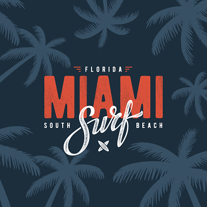 Miami surf blue