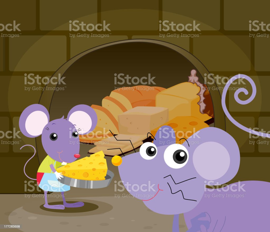 Mice eating royalty-free mice eating stock vector art & more images of animal