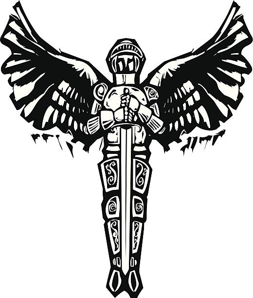 Royalty Free St Michael Clip Art Vector Images Illustrations Istock