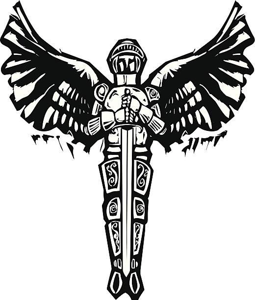 Royalty Free Archangel Michael Clip Art Vector Images