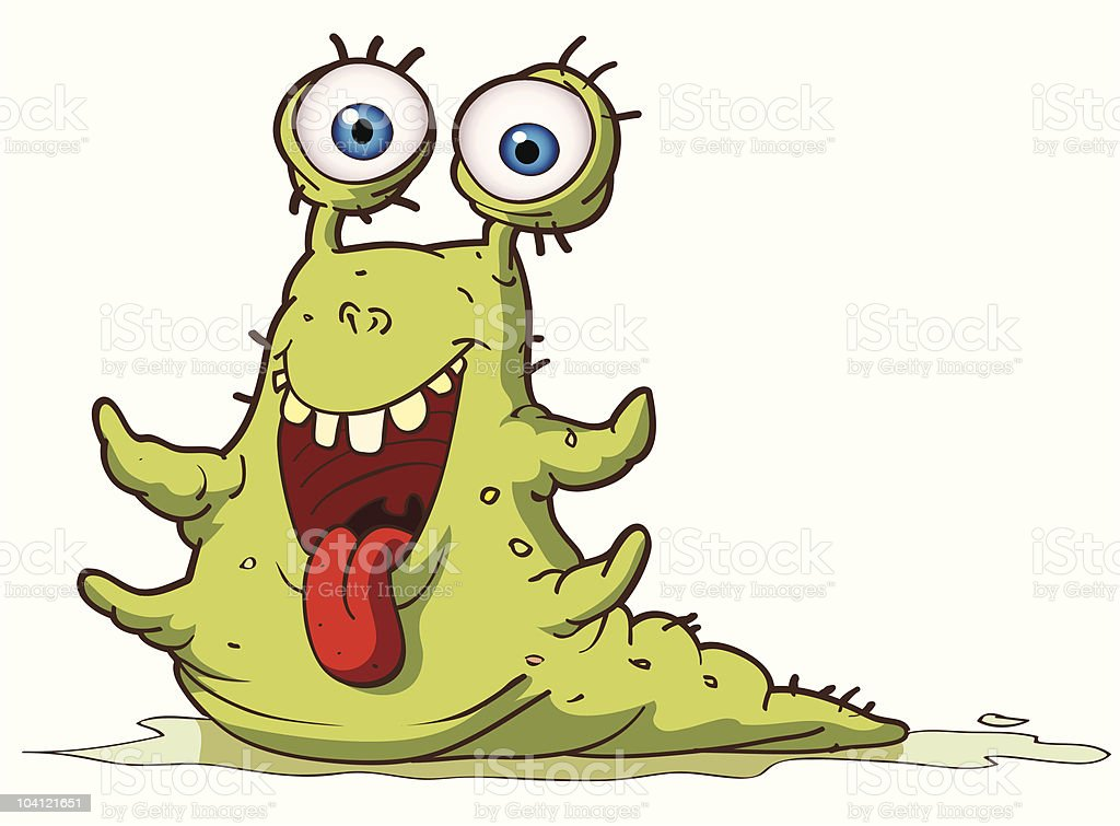 Micro Organism (smile) royalty-free stock vector art