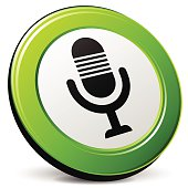 microphone 3d icon