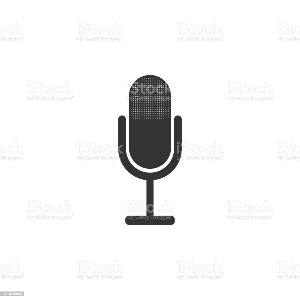 microphone icon. Detailed icon of musical instrument icon. Premium quality graphic design. One of the collection icon for websites, web design, mobile app vector art illustration
