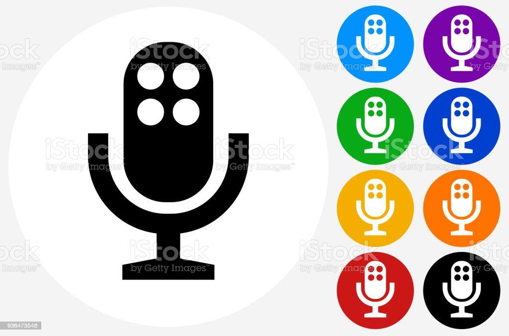 Mikrofonsymbol Stock Vektor Art und mehr Bilder von Ankündigung ...