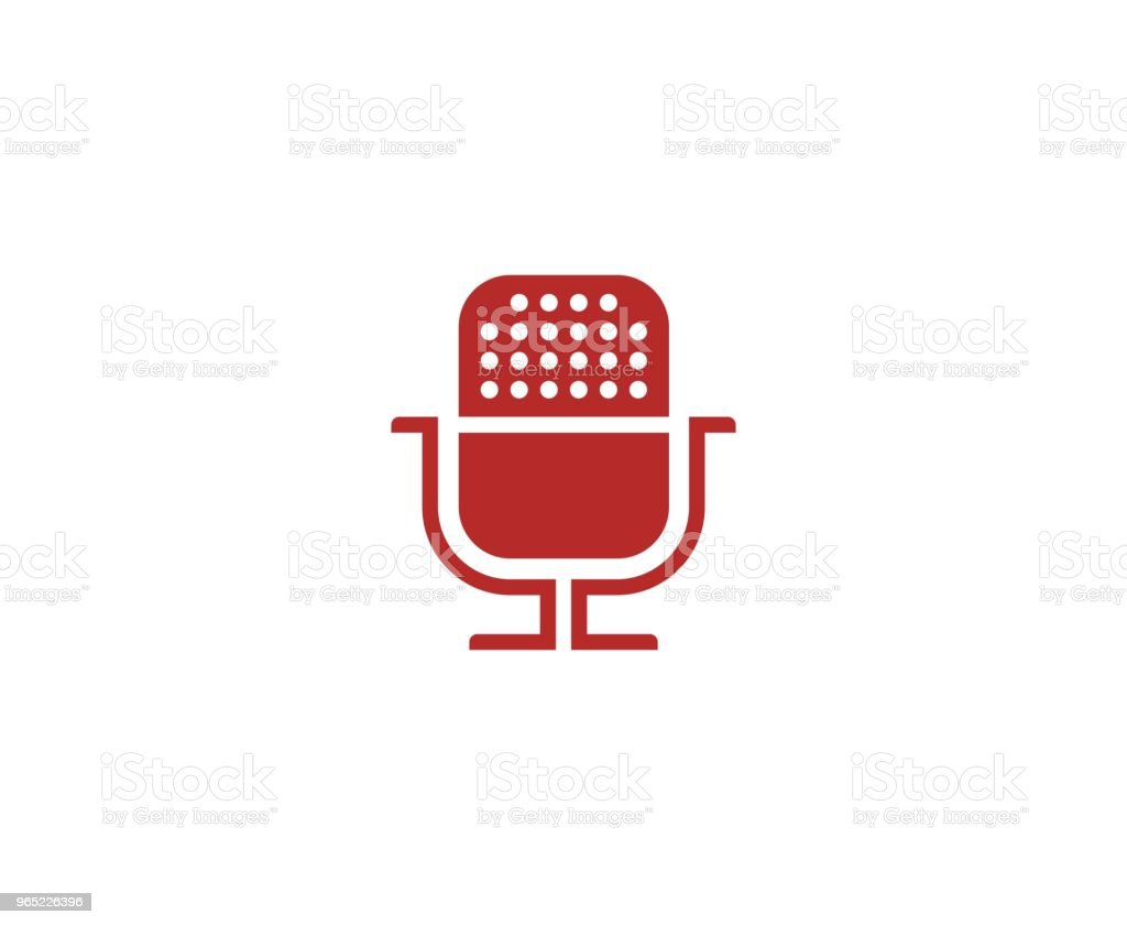 Microphone icon royalty-free microphone icon stock vector art & more images of art