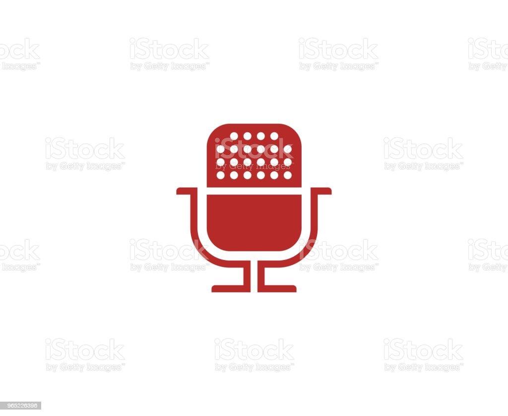 Microphone icon microphone icon - stockowe grafiki wektorowe i więcej obrazów bez ludzi royalty-free
