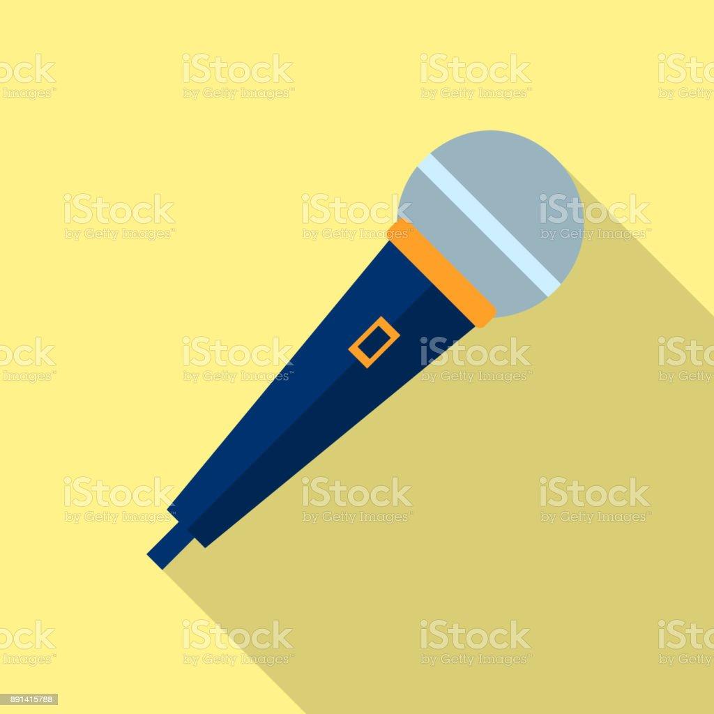 Microphone Icon Vector Voice Recorder Interview Karaoke