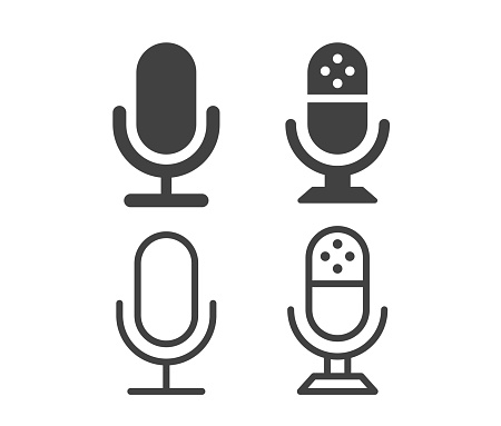 Microphone - Illustration Icons