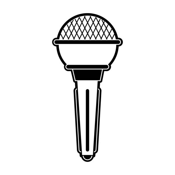 Microphone Music Note Symbol Stock Illustration Download