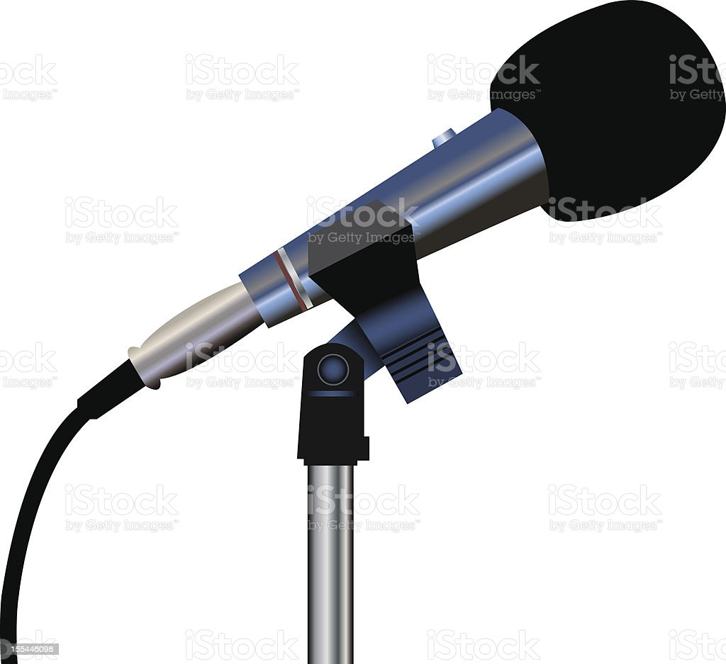 Microphone royalty-free microphone stock vector art & more images of audio equipment