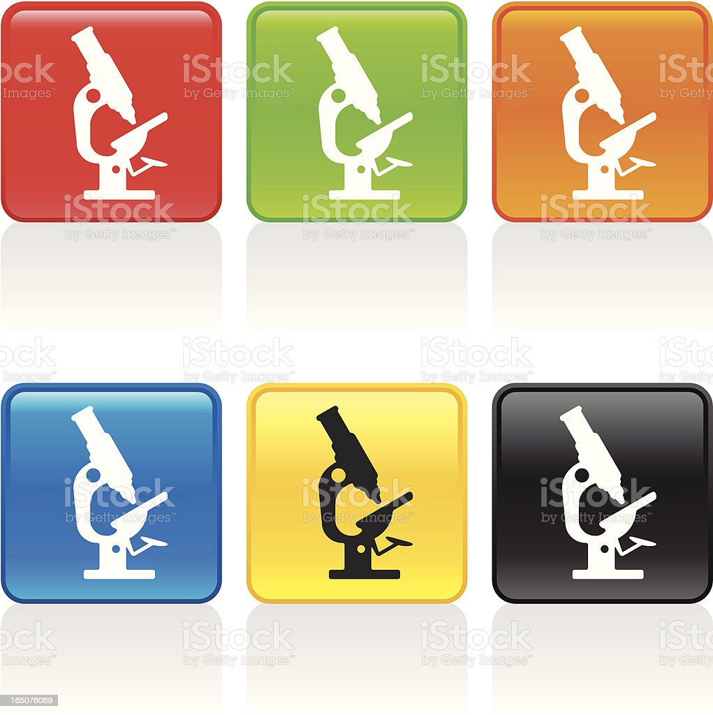 Microscope Icon royalty-free microscope icon stock vector art & more images of analyzing