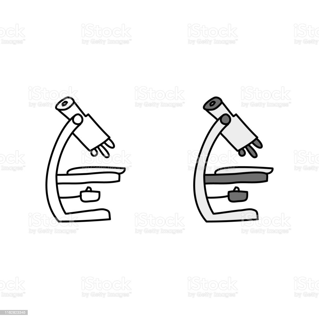 microscope stock illustration download image now istock https www istockphoto com vector microscope gm1162823345 319099161