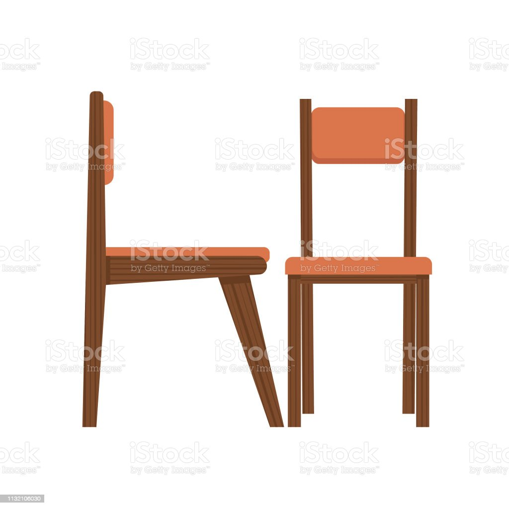 Midcentury Modern Dining Chair Stock Illustration Download Image Now Istock