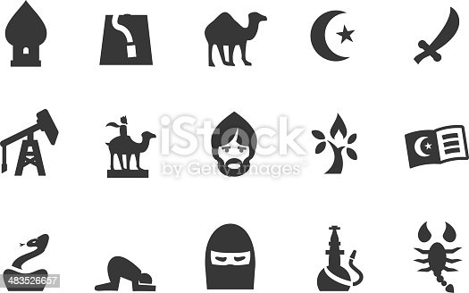 istock Middle East Icons 483526657