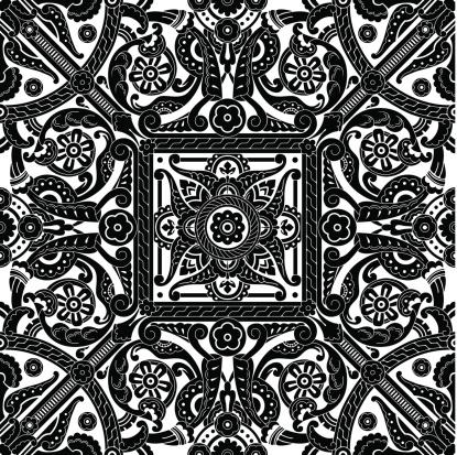 Middle eastern vintage pattern