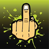 Middle Finger Salute