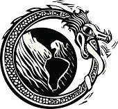 Midgard Serpent and Earth