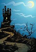 istock midnight castle 165598715