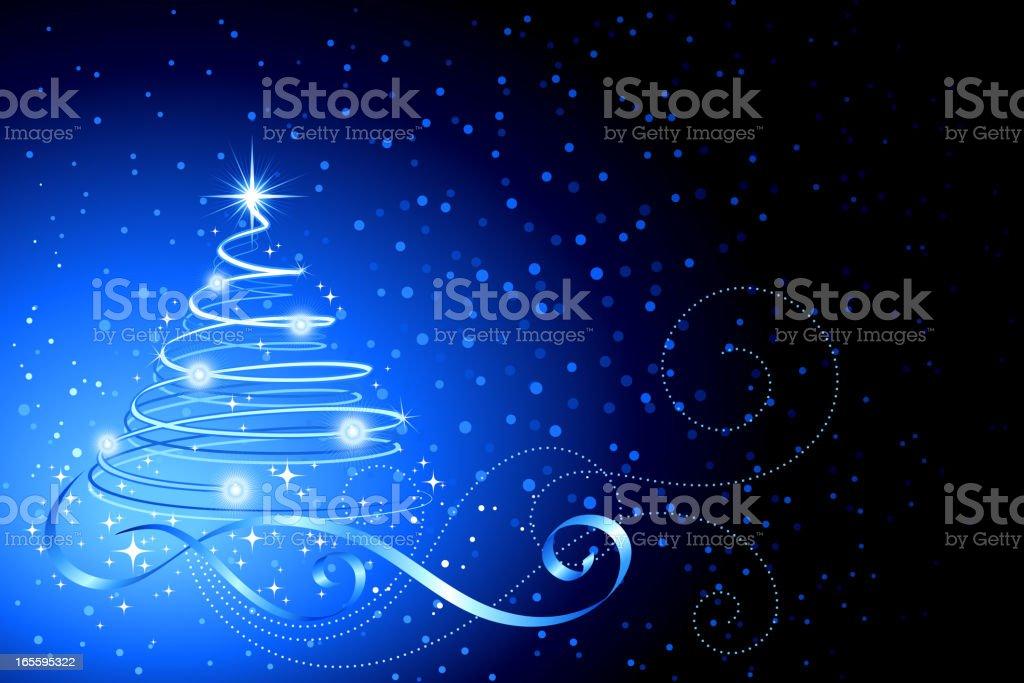 Meia-noite de Natal ilustração de meianoite de natal e mais banco de imagens de abstrato royalty-free