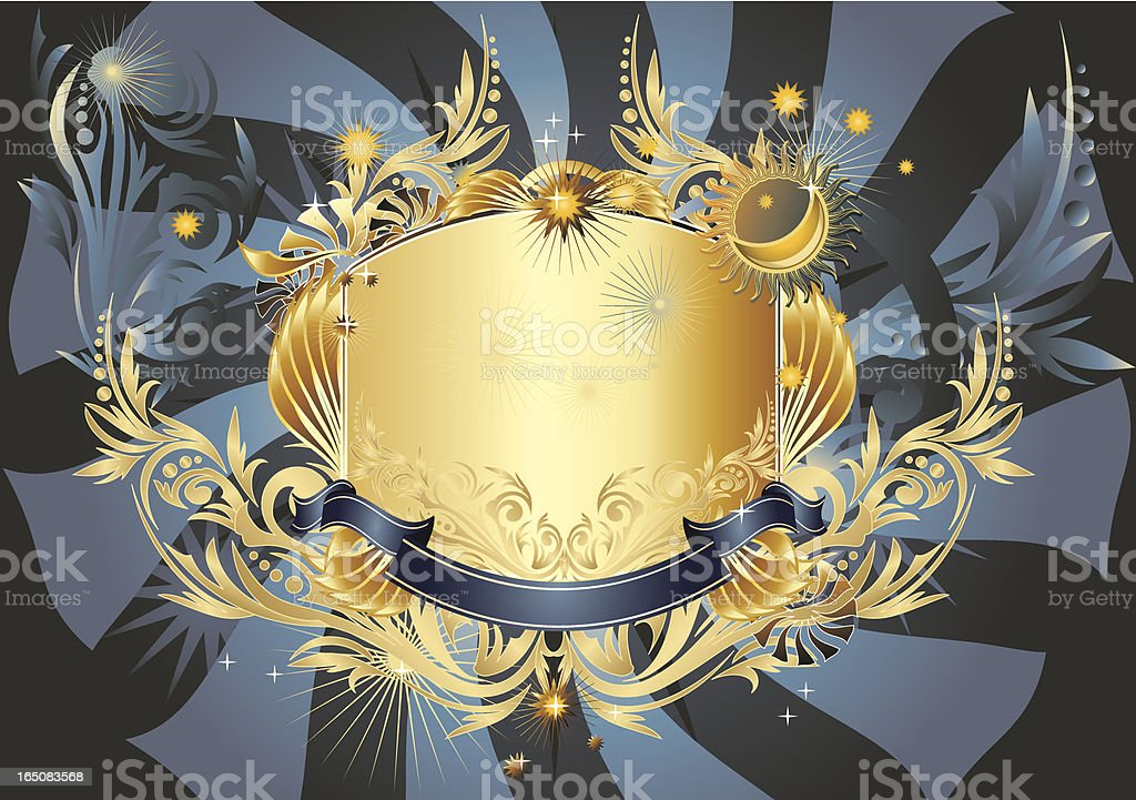Midnight frame royalty-free midnight frame stock vector art & more images of ancient