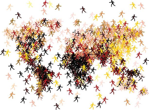 migration – Vektorgrafik