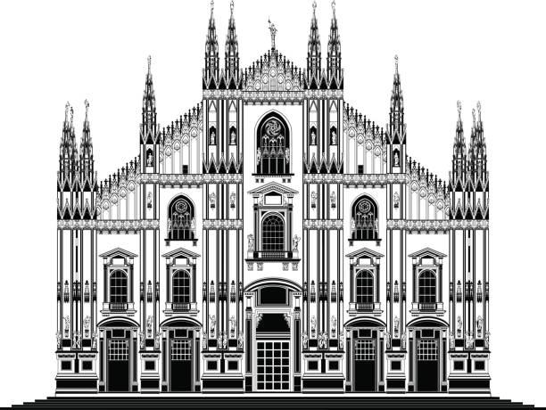 Top Duomo Di Milano Clip Art, Vector Graphics and ...