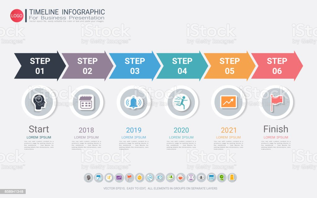 Milestone Timeline Infographic Design For Business Presentation Road on company mission, company leadership, company registration, company goals, strategy map, company gardens map, company resources, company management, company department map, company art,