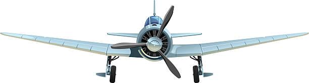 military aircraft - world war ii stock illustrations, clip art, cartoons, & icons