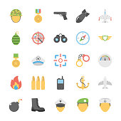 Military and Weapons Icons