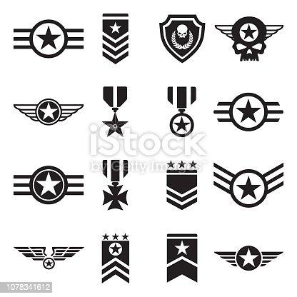 Logo, Badge, Army, Force