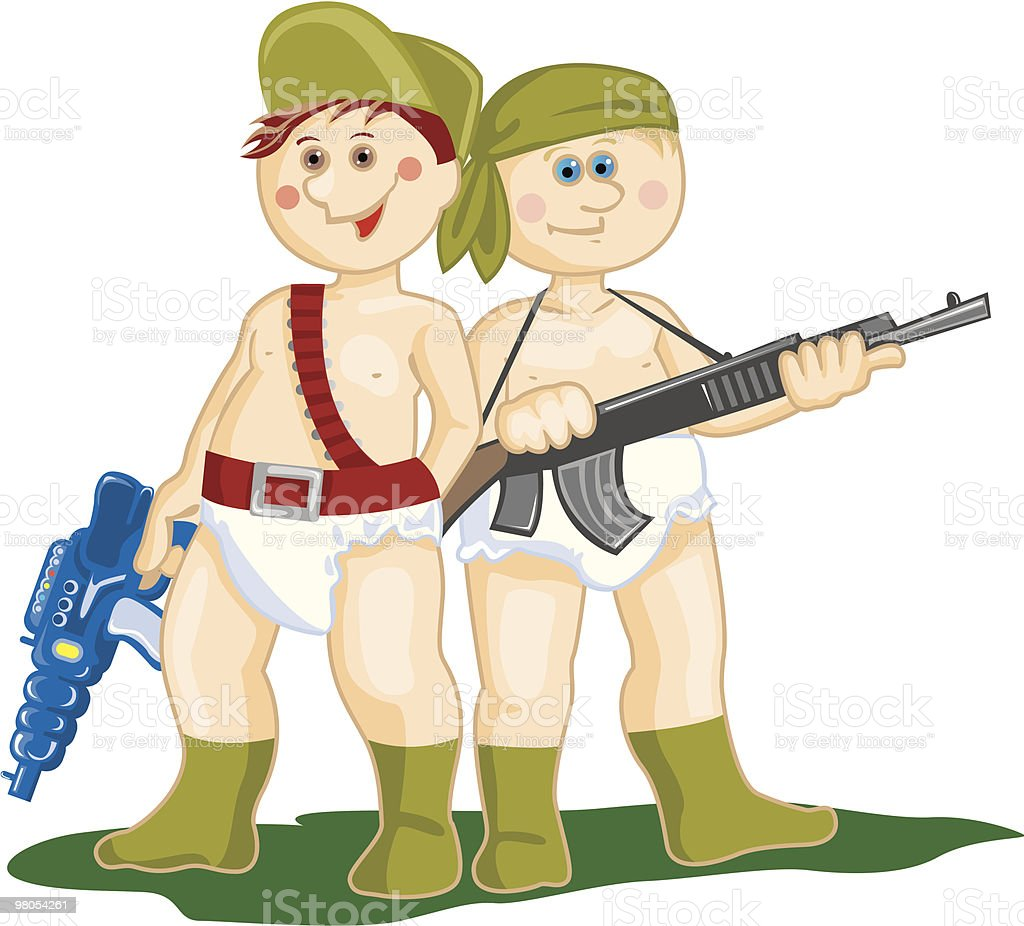 Military  boys royalty-free military boys stock vector art & more images of armed forces