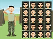 Cartoon Emoticons EPS10 File Format