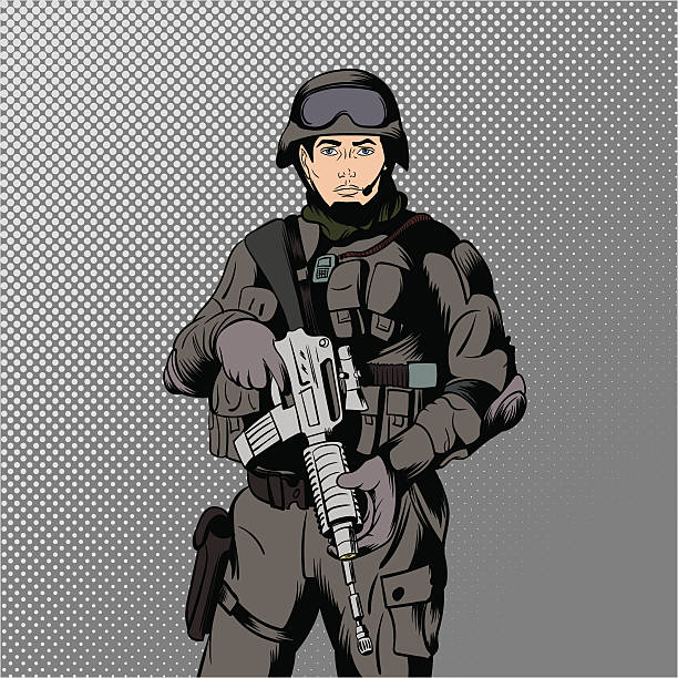 Royalty Free Swat Police Clip Art, Vector Images ...