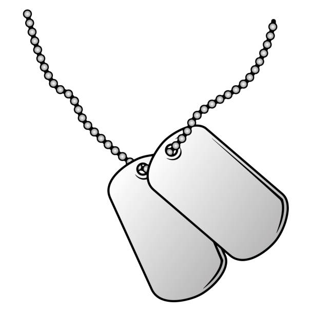 Top 60 Military Dog Tag Clip Art Vector Graphics And Illustrations