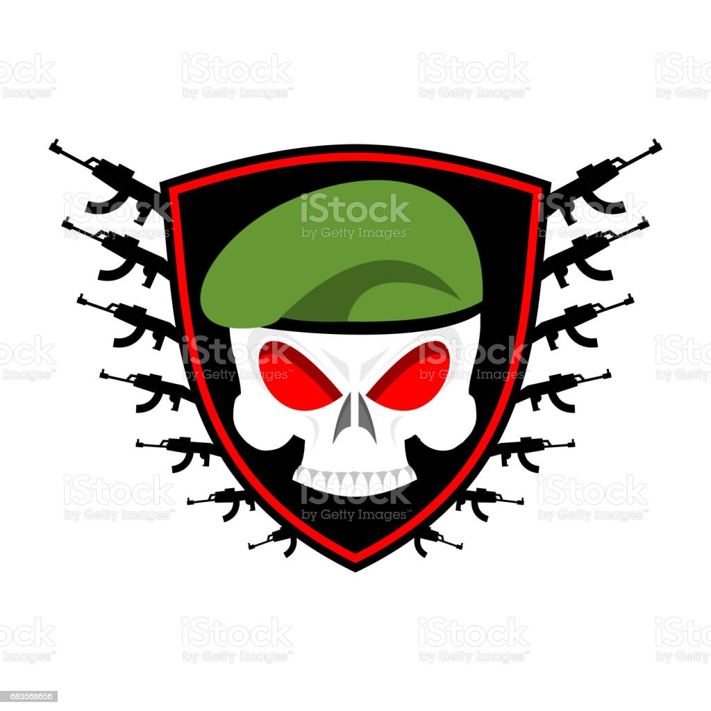 Cool Skull Logos With Guns Cool Skull Logo...