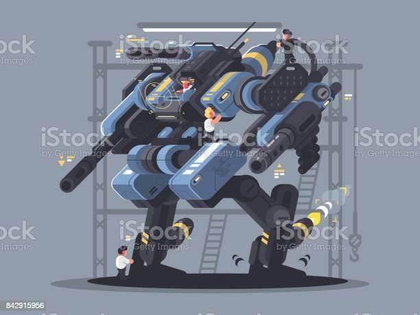 Military exoskeleton controlled by man vector id842915956?b=1&k=6&m=842915956&s=612x612&h=vql5pzji2mb hmgaonbjd2hrxqr6hyzmrmdeqlogxxw=