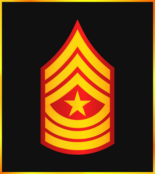 Royalty Free Sergeant Major Military Rank Clip Art, Vector ...