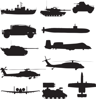 Military Silhouette Collection (vector+jpg)