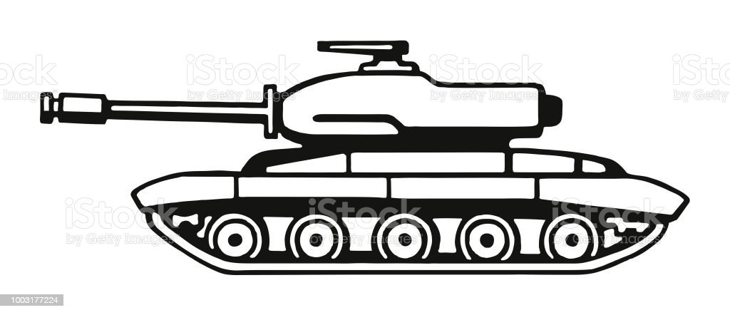 Military Tank Stock Illustration Download Image Now Istock