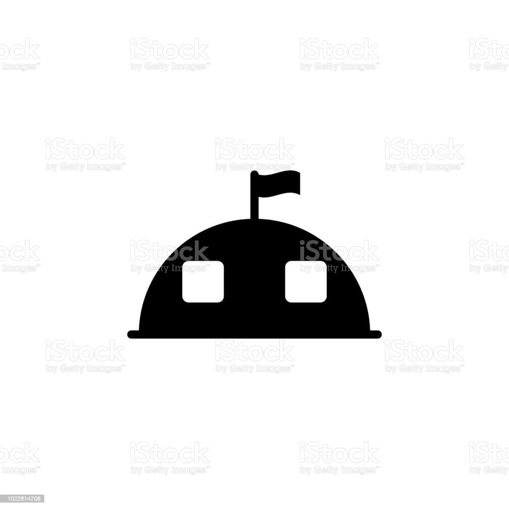 Military Tent Icon Element Of Simple Icon Premium Quality Graphic