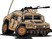 Military Truck Illustration