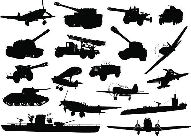 military - world war ii stock illustrations, clip art, cartoons, & icons