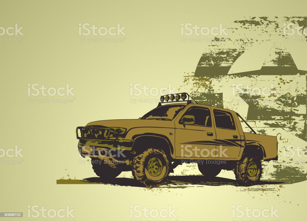 military vehicle royalty-free stock vector art