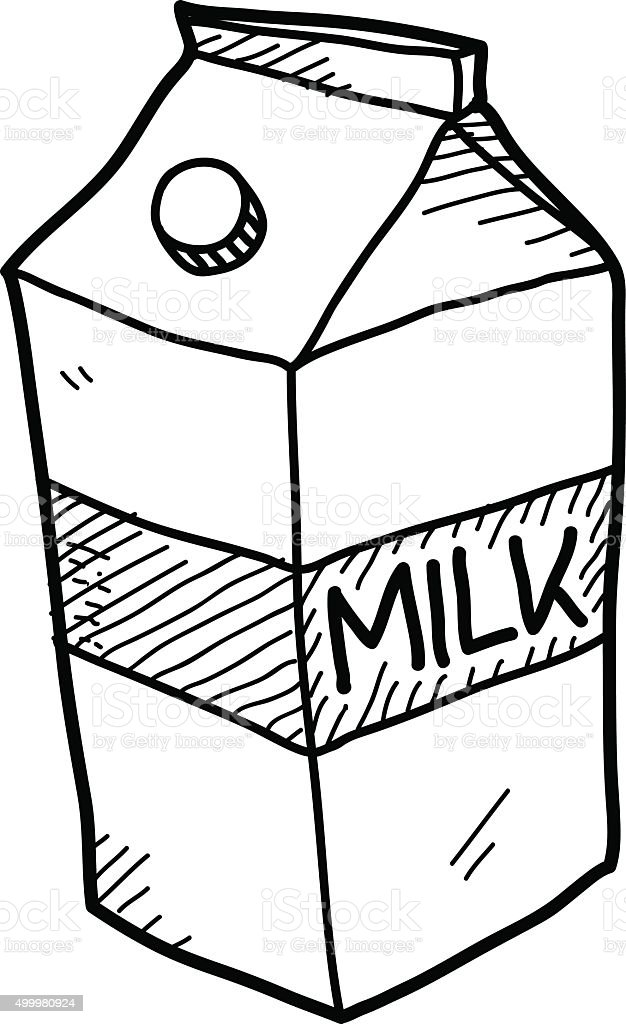 milk carton doodle stock vector art more images of 2015 499980924 rh istockphoto com milk carton drawing tumblr simple milk carton drawing