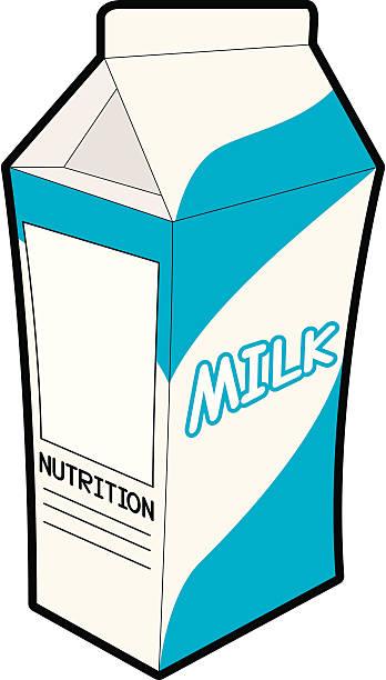 Best Milk Carton Illustrations, Royalty-Free Vector