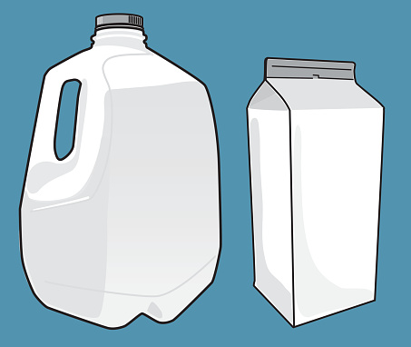 Milk Cartons Template