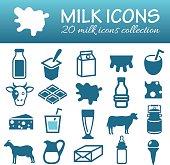milk icons